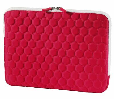 "Hama Netbook-Tasche Cover Hexagon Rot für 11,6"" 11"" Notebook-Hülle Case Sleeve"