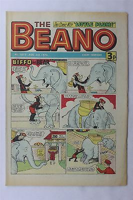 The Beano #1672 August 3rd 1974 FN Vintage Comic Bronze Age Dennis The Menace