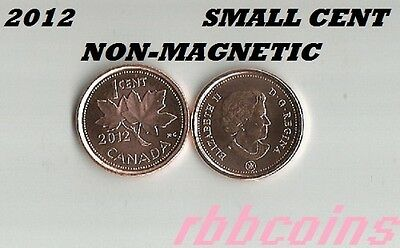 2012 Non-Magnetic Uncirculated Canada Small Cent - I Have More Canada Coins
