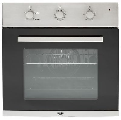 Bush Single Electric Mechanical Fan Oven - Stainless Stee. From Argos on ebay