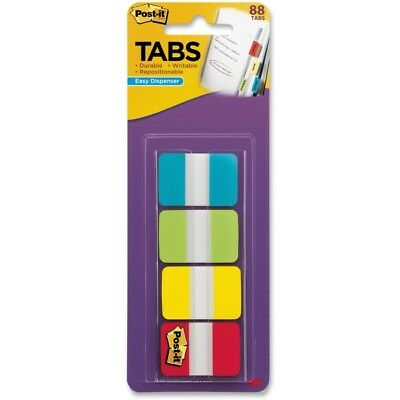 "Post-it 1"" Solid Color Self-stick Tabs 686ALYR1IN"