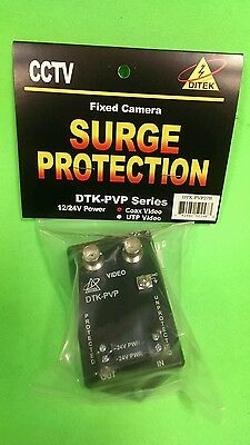 Ditek DTK-PVP coax video surge protector