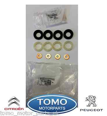 Genuine Peugeot and Citroen injector Seal Kit 1.6 HDI DV6
