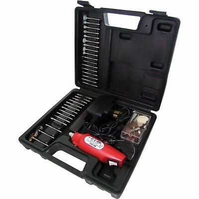 Am-Tech V2560 60pc Mini Drill & Grinder Kit Rotary Sander Buffer Cutter Engraver