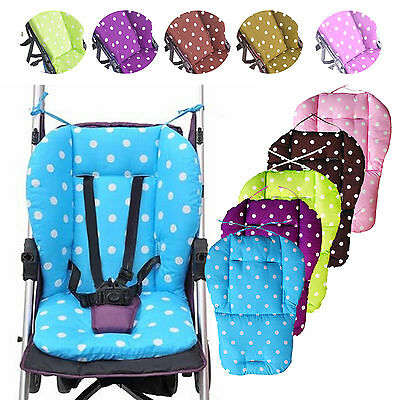 UP Baby Thick Pushchair Mat Dot Liner Cover Stroller Buggy Pram Seat Cushion
