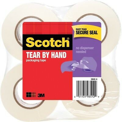 Scotch Tear-By-Hand Packaging Tape 38424