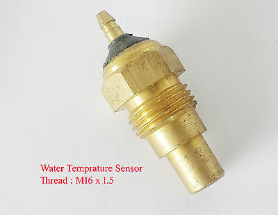 Aftermarket Gauge Universal Water Temperature Sensor Temp Sender M16x1.5 Thread
