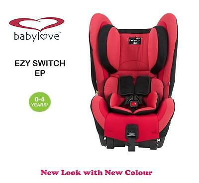 New BabyLove Ezy Switch Ep Convertible Child Infant Baby Car Seat 0-4 years Red