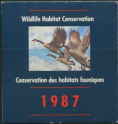 Canada B.o.b. Federal Wildlife Habitat Conservation #Fwh3 Mint Duck Stamp (A)
