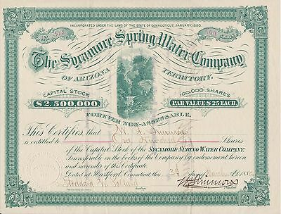 The Sycamore Spring Water Co. 1880