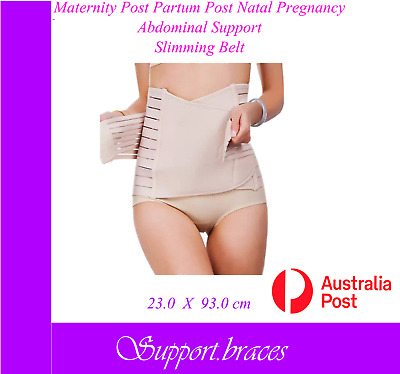 Maternity Post Partum Post Natal Abdominal Support Belly Tummy Brace Belt Band