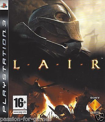 LAIR for Playstation 3 PS3 - with box & manual