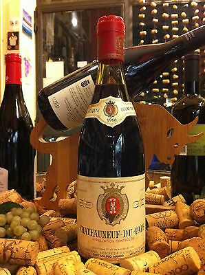 Vino Rosso (Red Wine) Chateauneuf-Du-Pape 1966 Henri Ramel