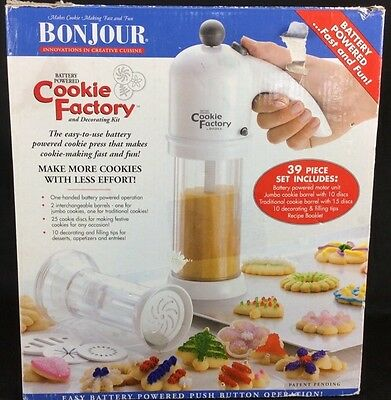 Bonjour Battery Operated Cookie Factory 39 Piece Set