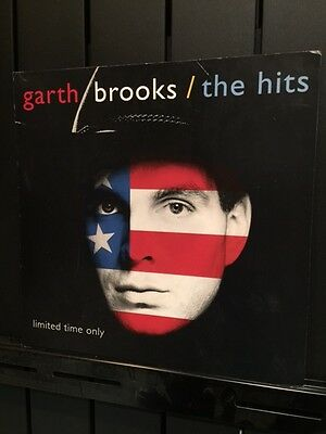Garth Brooks 12 X 12 Promotional Poster - 2 SIDED