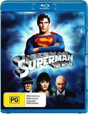Superman The Movie (1978) Blu-ray Region B New!
