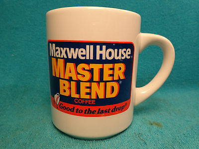Maxwell House  Master Blend Coffee Cup Good To The Last Drop