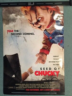SEED OF CHUCKY Movie Poster - Original - 2 SIDED  - 27 X 40