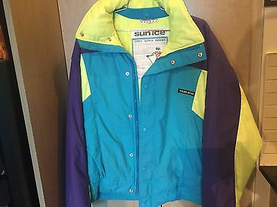 Vintage 80's SUNICE Ski Jacket Made in CANADA Sz M Mint Cond.