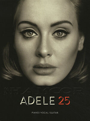 Adele 25 Piano Vocal Guitar Sheet Music Book Hello Million Years Ago Remedy