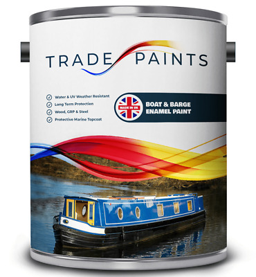 Boat Barge Metal | Wood | GRP Paint - Gloss - 100's Of Colours Available