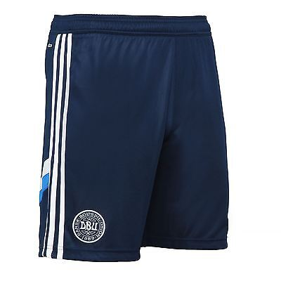 adidas Denmark DBU Training Shorts F46435 Mens~Football~RRP £30~S, M, XL, XXL