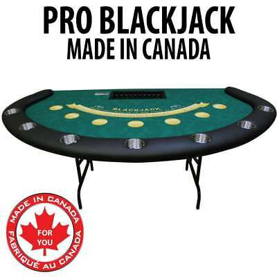 Professional Quality Blackjack table with Casino Dye Sublimation Cloth