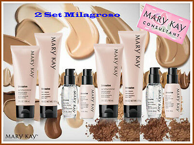 Lot of 2 Mary Kay 2 Set  Milagroso TimeWise normal a seca & mixta a grasa