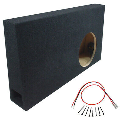 Ford F150 Extended Super Cab 04-06 Truck 10 Ported Subwoofer Enclosure Sub Box