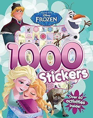 Disney Frozen: Colouring & Activity with 1000 Stickers Book