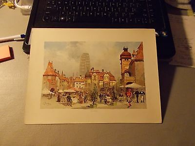 """The World's fair in Water Colors """"OLD VIENNA"""" 1893 by C Graham"""