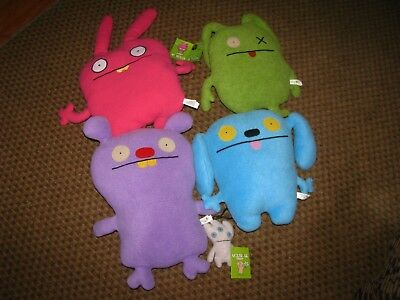 Uglydoll Tray And Uglydoll Abima Plush Keychains With Tags Never Used