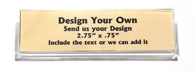 Design Your Own Custom Name Tag Badge ID Pin Magnet for Send Us Your Design