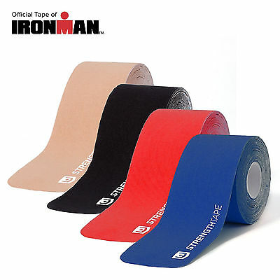 2/3/5 Rolls Pre-cut Kinesiology Tape 5m*5cm Elastic Sports KT Tape Pain Relief