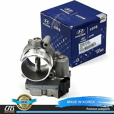 GENUINE Throttle Body for 04-11 Hyundai Santa Fe Sportage Diesel OEM 35100-27410