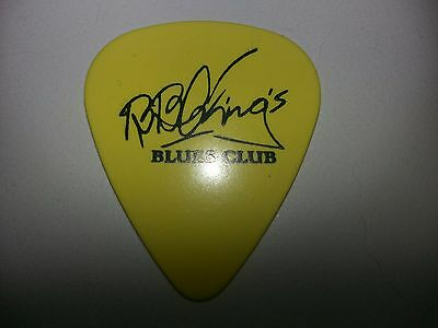 BB King signature guitar pick Never Make A Move Too Soon king of the Blues rip
