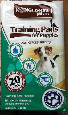 100 Puppy Training Pads Ultra Absorbent Odour Eliminating Multi Layer Value!