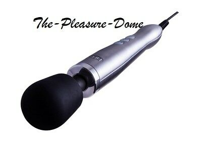 New Extra Powerful Doxy Wand Die Cast Sport Ultimate Massager Brushed Aluminium