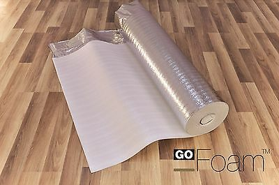 30m2 - 3mm Comfort Silver - Acoustic Underlay For Wood & Laminate Flooring