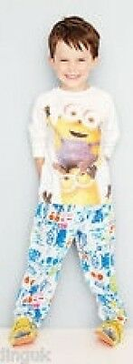AVON EXCLUSIVE MINIONS PYJAMAS - Size 5/6 Years (New/Sld)