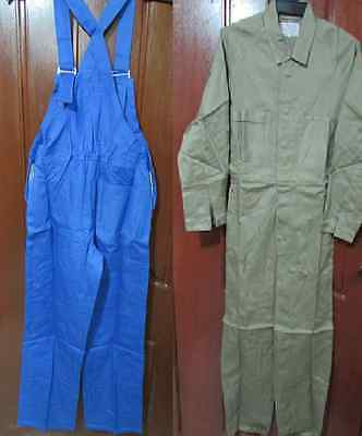 (Pack of 2) Work overalls, Full or bib and Brace, Small sizes Priced to Clear!!!