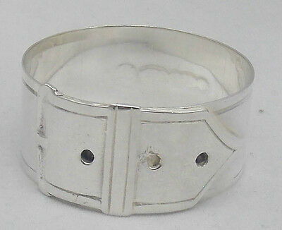 Sterling Silver Buckle Napkin Ring