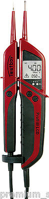 Testboy PROFESSIONAL III 3 LCD Two Pole Voltage Tester AC / DC 6 - 1400V Passage
