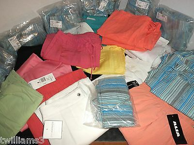 NWT $810 Wholesale Lot 32-pc Ladies, Pants, Capris Many colors and size 70% OFF!