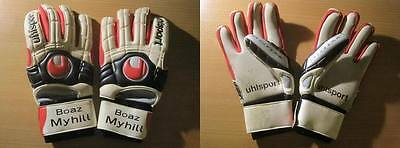 Boaz Myhill Match Worn Uhlsport Goalkeeper Gloves West Brom & Hull City (289)