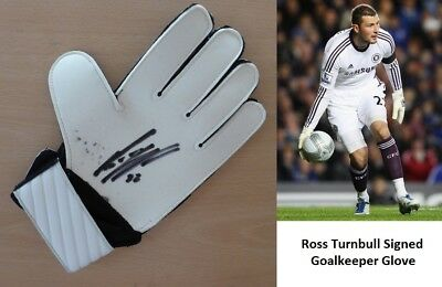 Ross Turnbull Signed Keeper Glove Doncaster Chelsea Middlesbrough (3603)