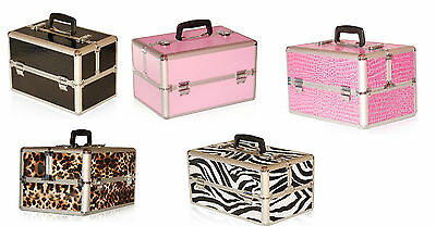 Extra Large Space Storage Beauty Box Make up Nail Jewelry Cosmetic Vanity Case