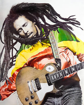 RASTA MAN POSTER (50x40cm) BOB MARLEY NEW LICENSED ART