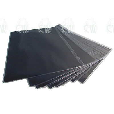 10 X A3 Presentation Portfolio Sleeves. Clear Art PVC Presenter Sleeves.