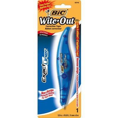 Wite-Out Exact Liner Brand Correction Tape WOELP11 WHI